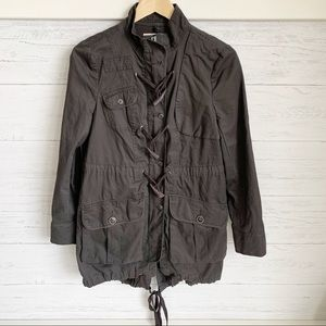 Free People 3 in 1 Field Jacket Removable Liner